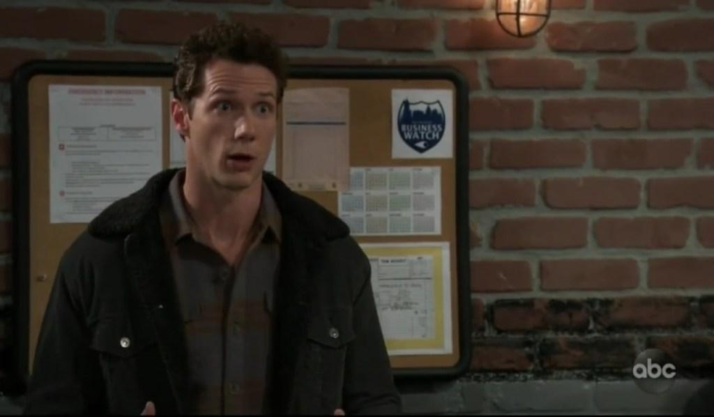 Brando asks Jason about plan in garage General Hospital