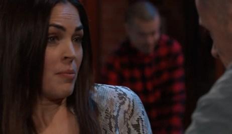 Britt confronts Julian at Charlie's General Hospital