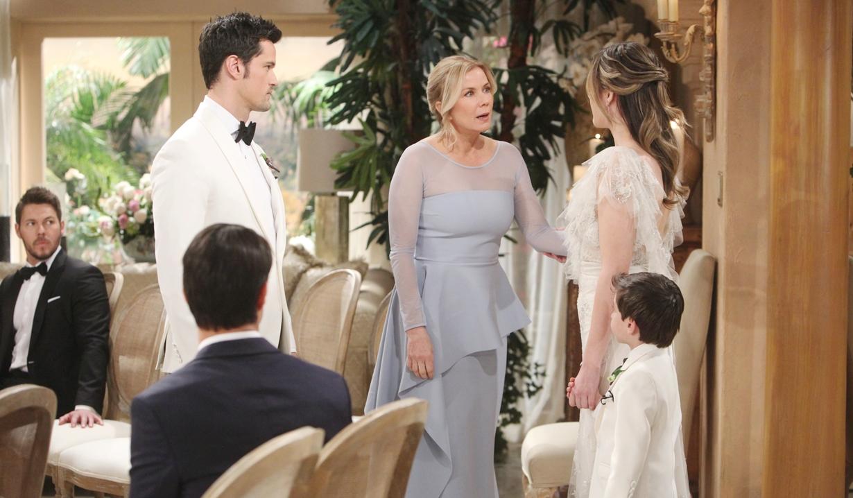 Brooke intervenes, Thomas, Hope Bold and Beautiful