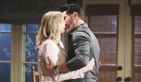 Brooke, Bill kiss Bold and Beautiful