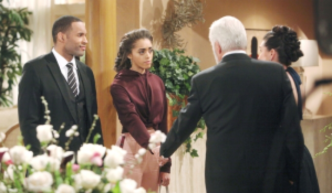 Carter, Zoe goodbye Eric, Quinn Bold and Beautiful