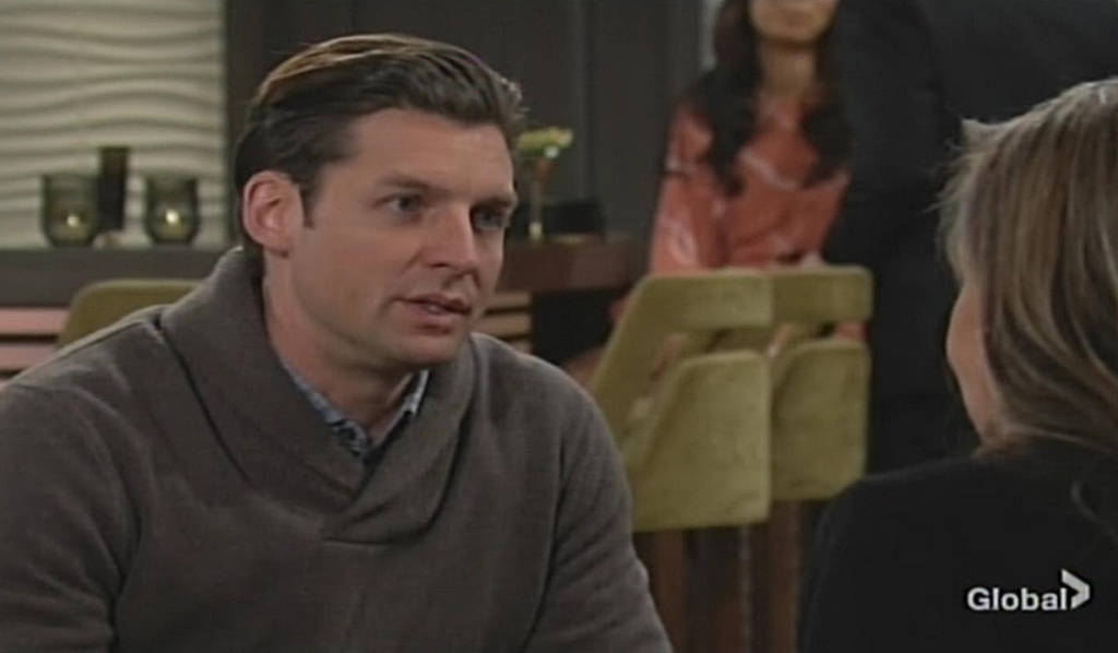 Chance updates Jill about Colin Young and Restless
