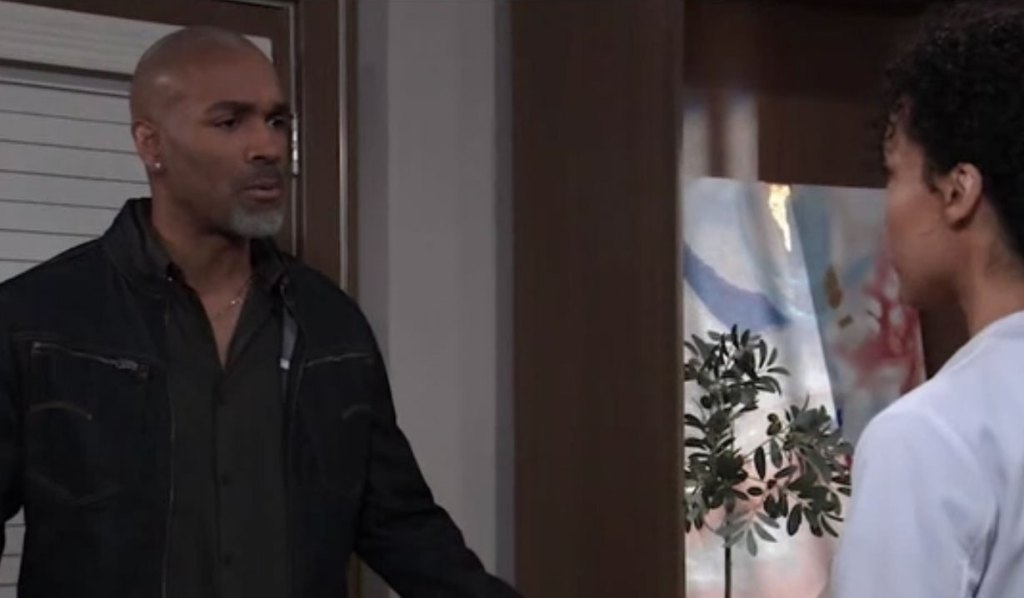 Curtis confesses he told Jordan about them to Portia on General Hospital