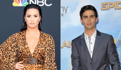Demi Lovato and Max Ehrich of Young and the Restless