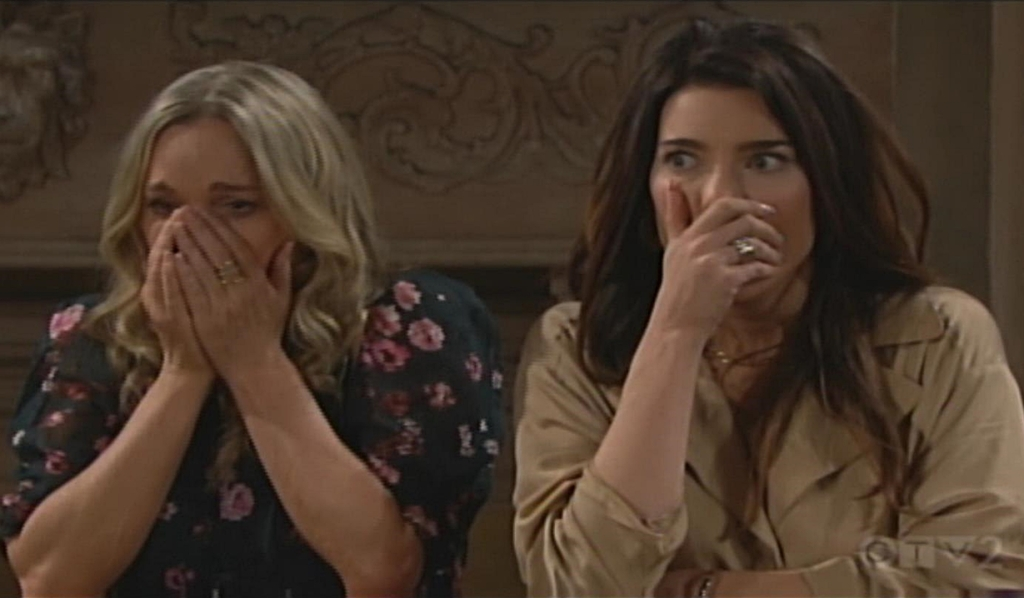 Donna, Steffy react to punch Bold and Beautiful