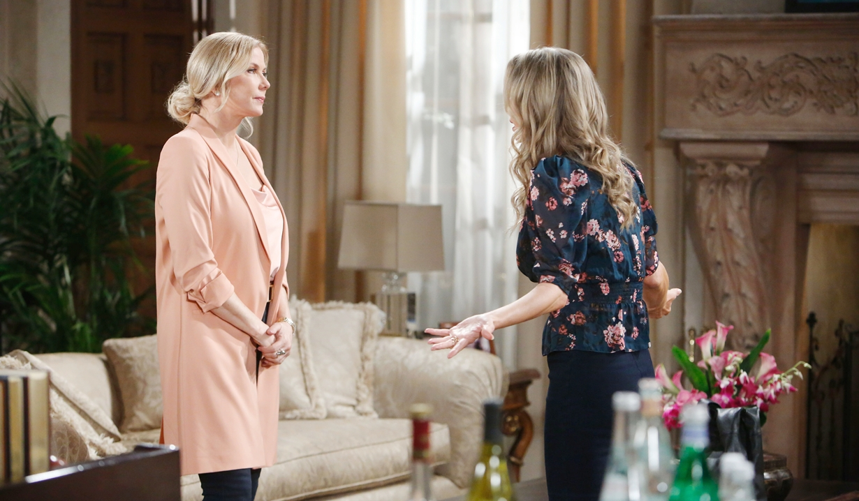 Donna confronts Brooke Bold and Beautiful