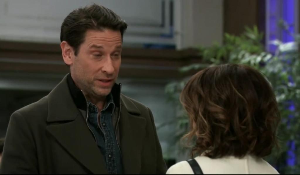 Franco and Liz talk financial problems at General Hospital