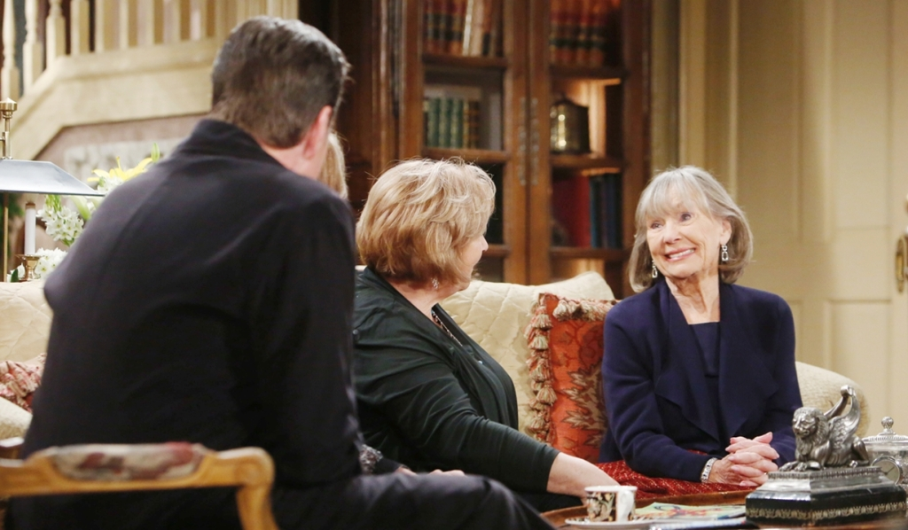 Jack, Ashley, Traci bring Dina home Young and Restless