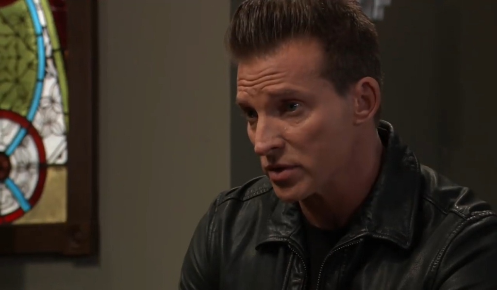 Jason asks Curtis about Jordan's connection to Cyrus at Pozzulo's General Hospital