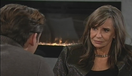 Jill react bad news Young and Restless
