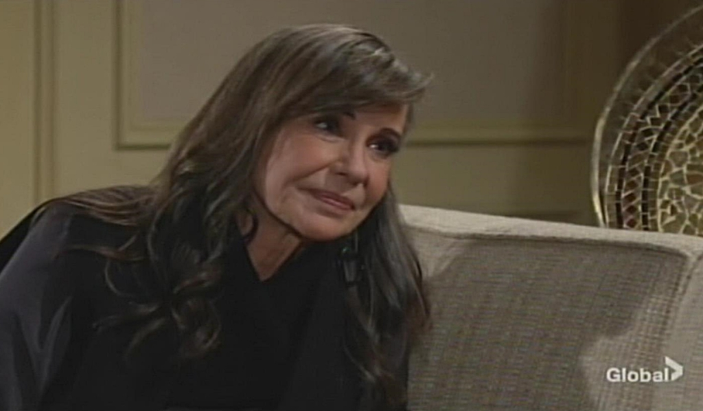 Jill stops Billy Young and Restless