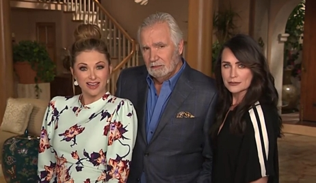 John McCook, Rena Sofer appear Entertainment Tonight Bold and Beautiful
