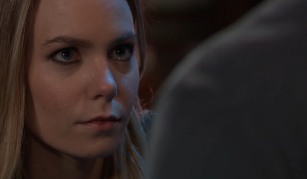 Julian tells Nelle she won't be part of Wiley's life at Charlie's General Hospital