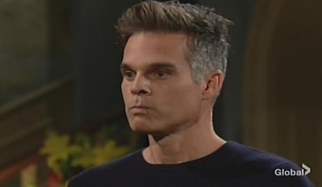 Kevin reacts to contraction Young and Restless