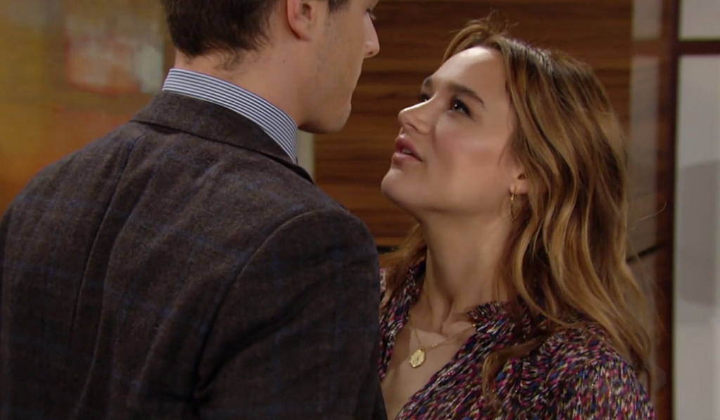 Kyle, Summer future talk Young and Restless