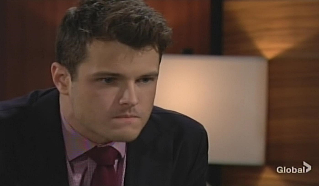 Kyle fumes Young and Restless