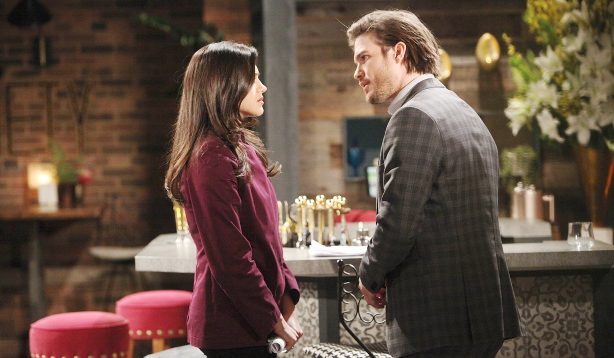 Lola, Theo talk Young and Restless