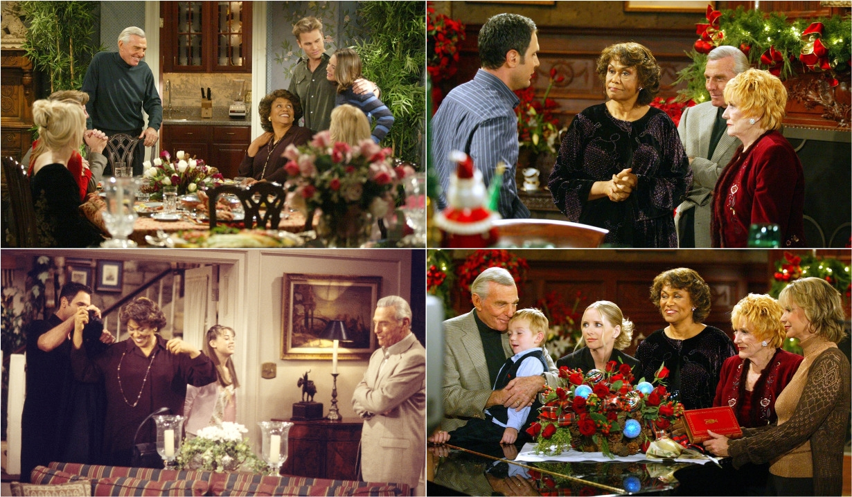 Mamie Johnson collage Young and Restless