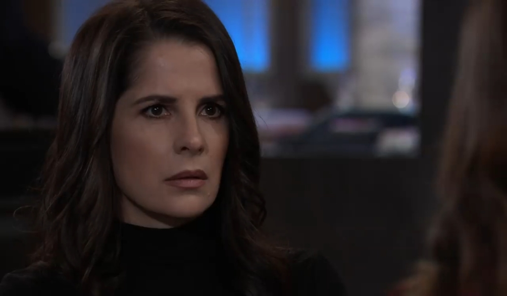 Molly worries to Sam about TJ General Hospital