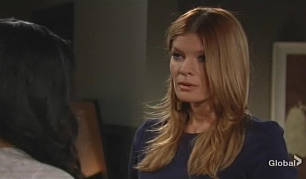 Phyllis comforts Amanda Young and Restless