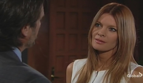 Phyllis flirt Nick Young and Restless