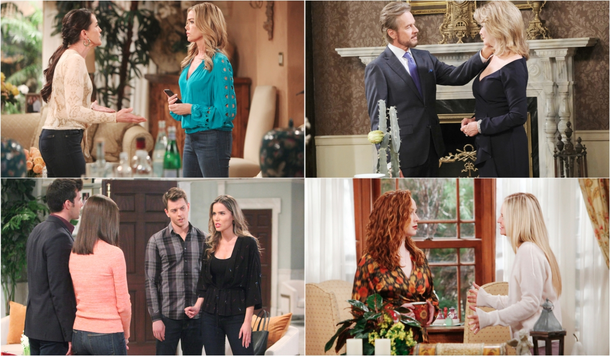 3-21-20 spoilers for bold and beautiful days of our lives general hospital young and restless