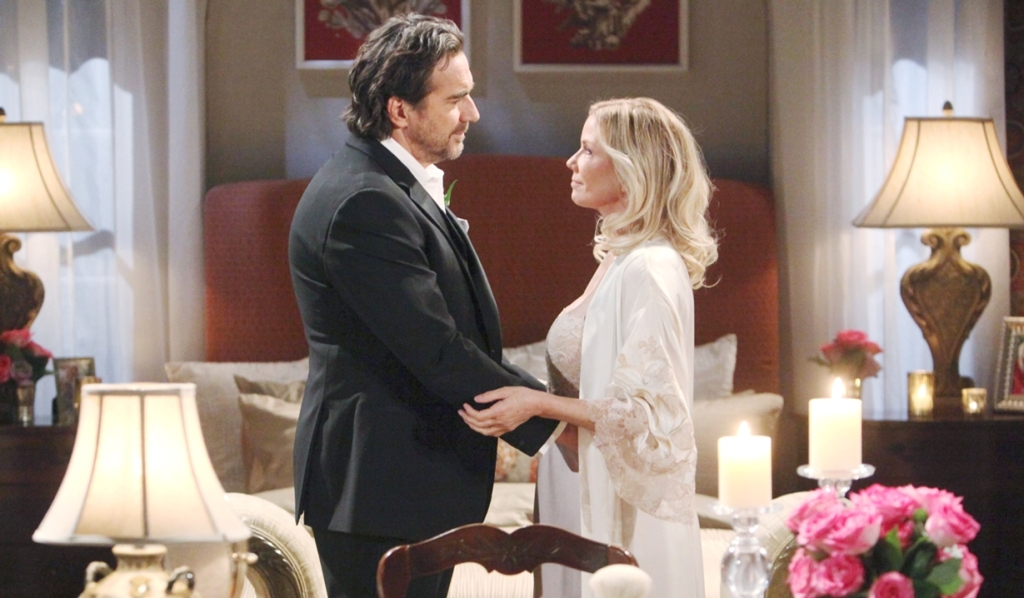 Ridge, Brooke romantic reunion Bold and Beautiful