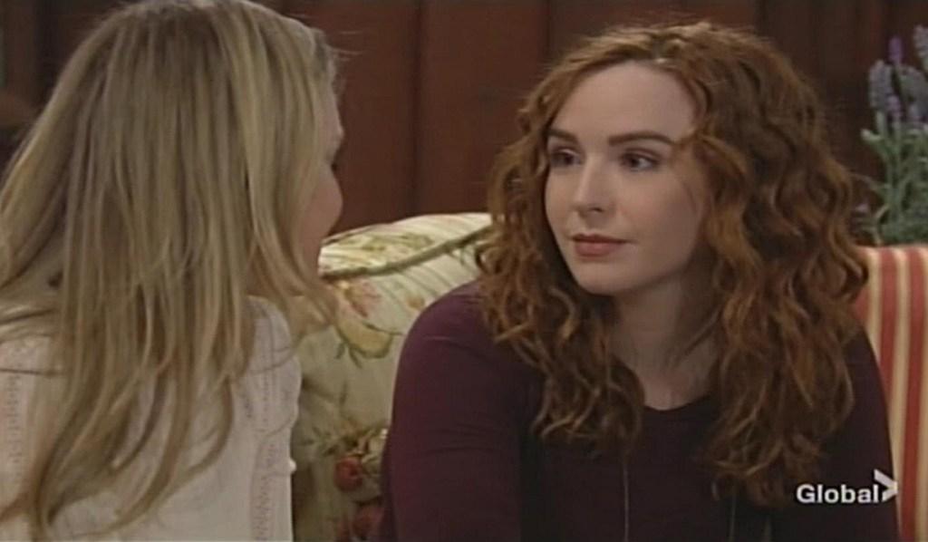 Sharon, Mariah talk Young and Restless
