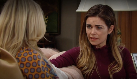 Sharon, Victoria talk ranch Young and Restless