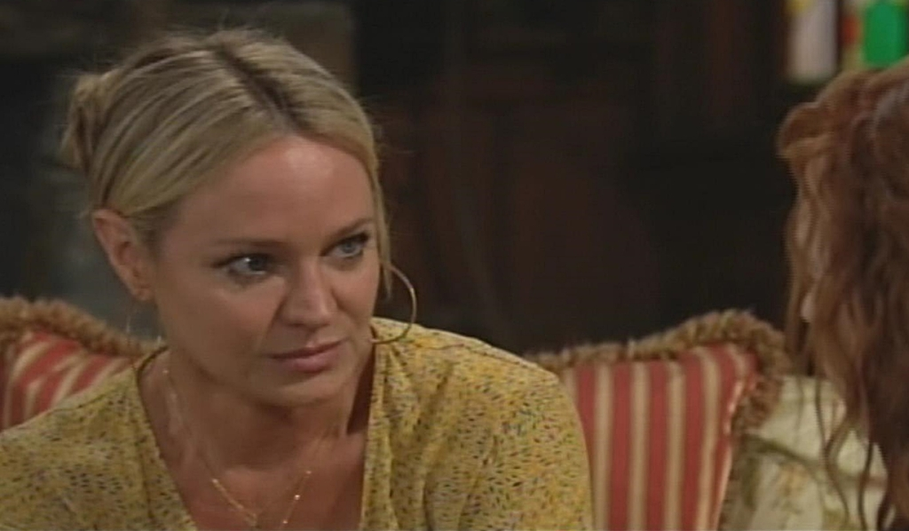 Sharon terrified with Mariah Young and Restless