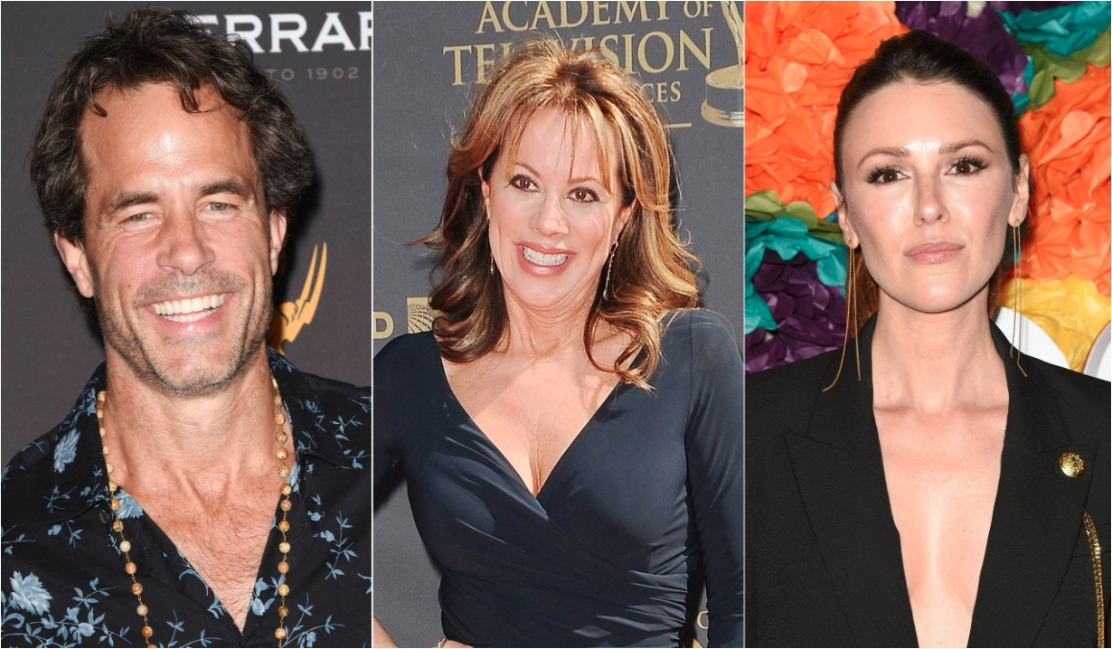 Shawn Christian Nancy Lee Grahn Elizabeth Hendrickson Days of our Lives General Hospital Bold and the Beautiful Young and the Restless