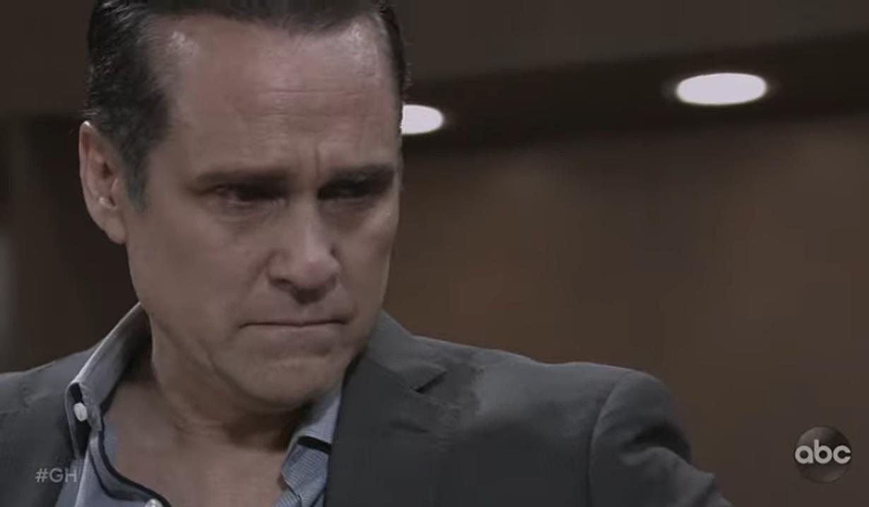 Sonny struggles emotionally General Hospital