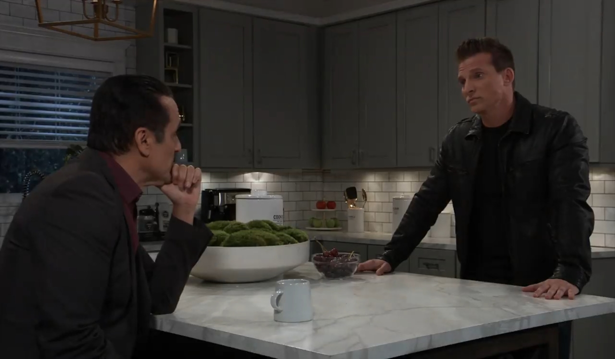 Sonny tells Jason to keep looking at home General Hospital