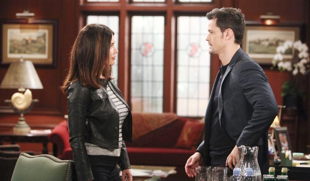Steffy, Thomas argument Bold and Beautiful
