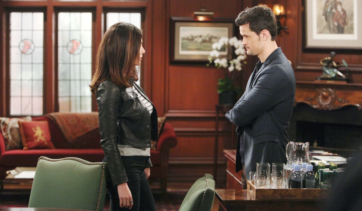 Steffy confronts Thomas agenda Bold and Beautiful