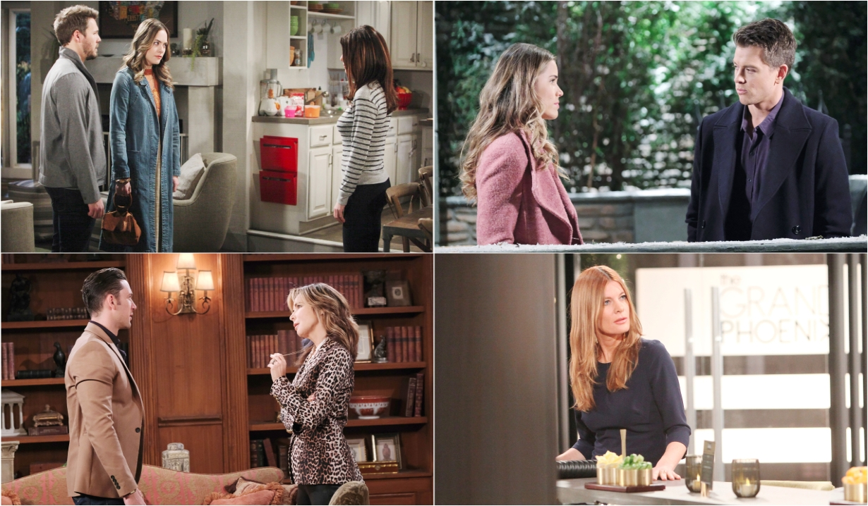3-7-20 spoilers for bold and beautiful days of our lives general hospital young and restless