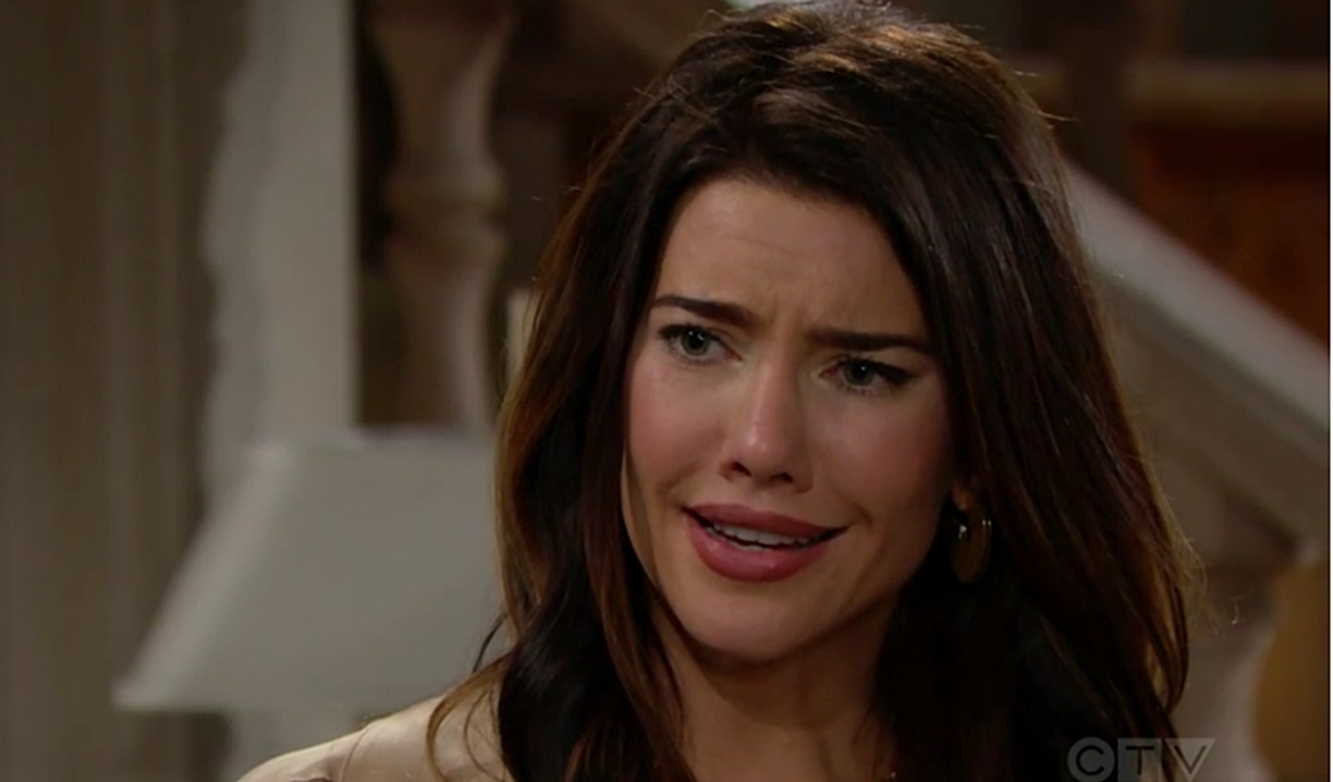 Steffy reaction video kiss Bold and Beautiful