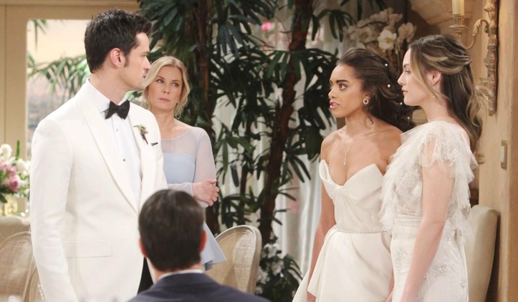 Zoe, Hope confront Thomas wedding Bold and Beautiful