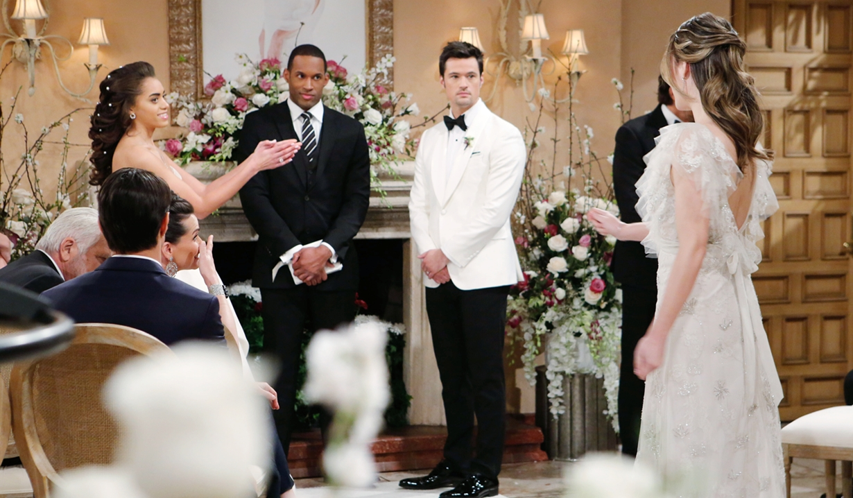 Zoe, Hope gesture wedding Bold and Beautiful