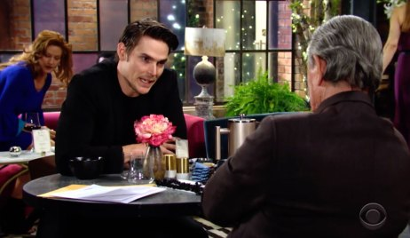 Adam blackmails Victor on Young and the Restless