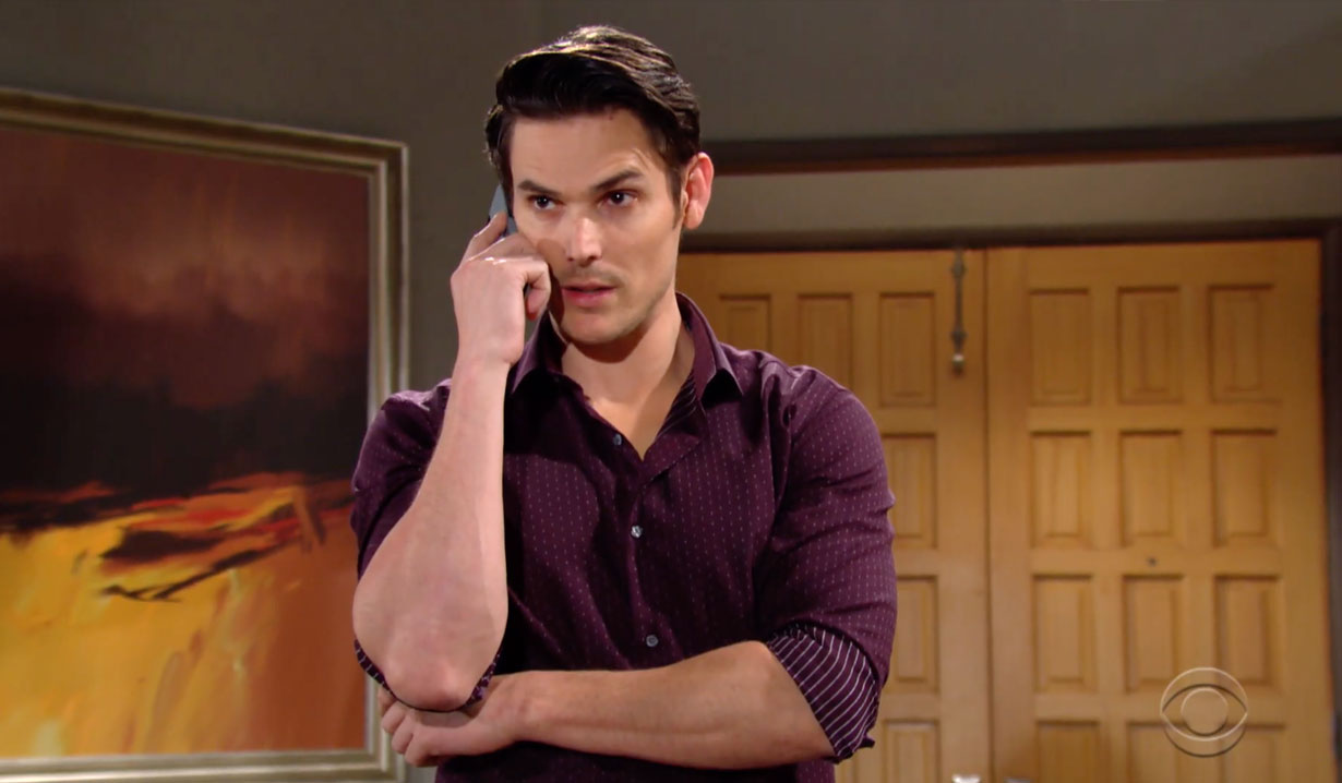 Adam investigates Victor and a murder on Young and the Restless