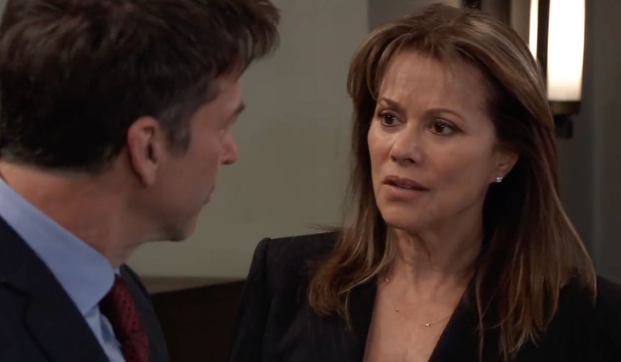 Alexis questions Neil about what he wants on General Hospital