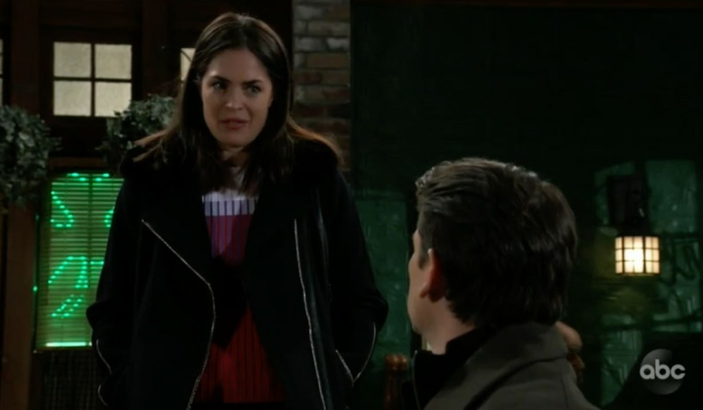 Britt apologizes to Franco on General Hospital
