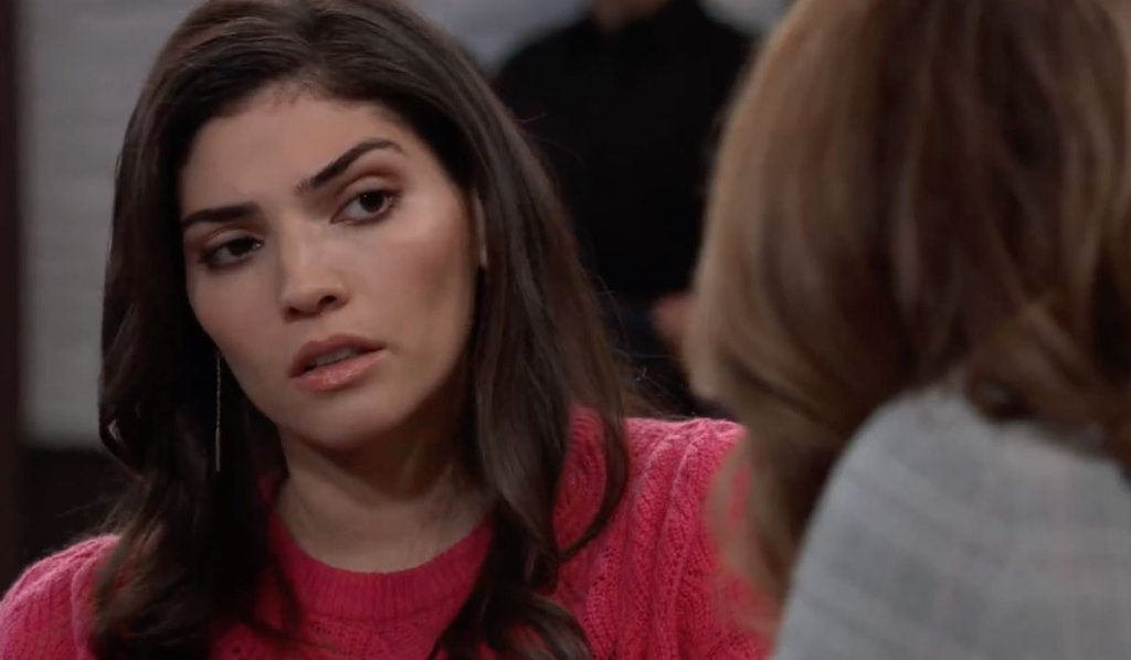 Brook Lynn and Olivia discuss an offer on General Hospital