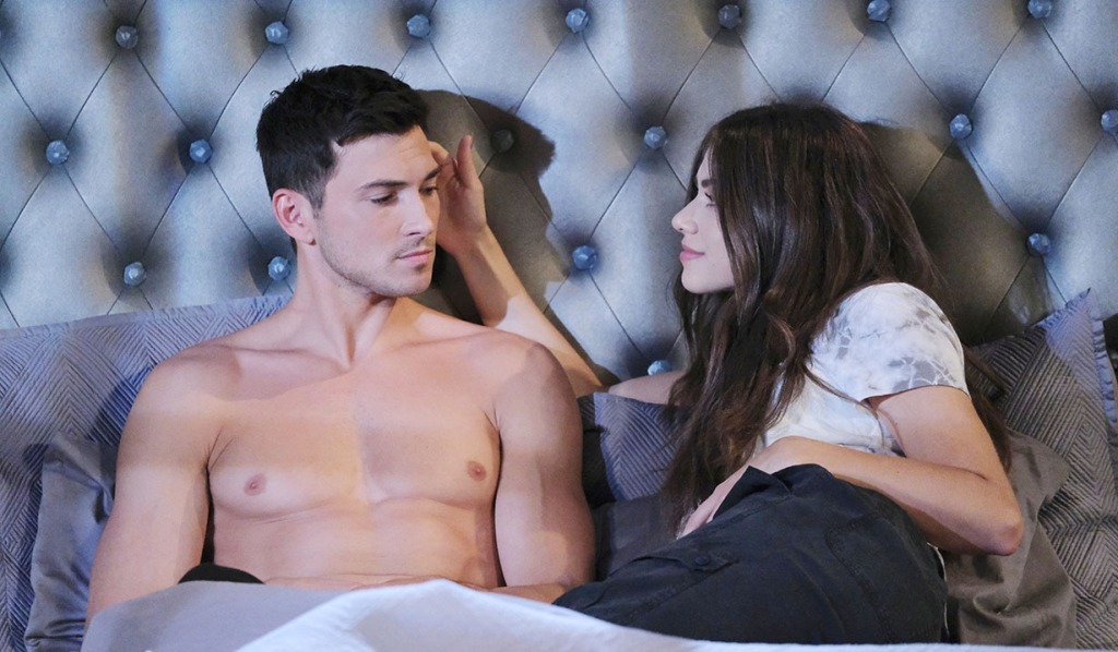 ciara and ben in bed talking days of our lives