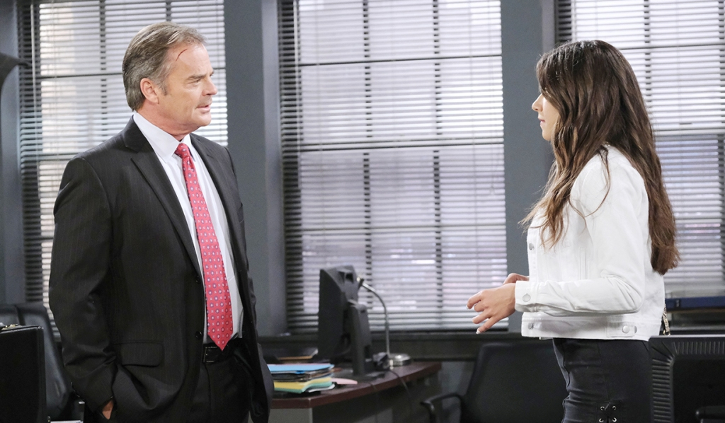 Ciara goes to justin about beau days of our lives