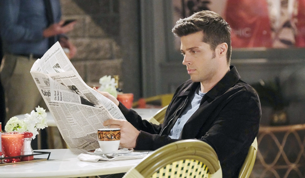 evan reads news days of our lives