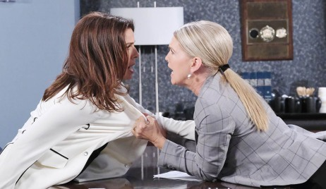 jenn attacks Gina days of our lives