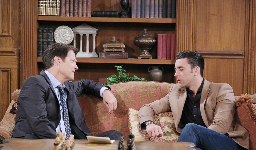 chad and jack discussing abby days of our lives