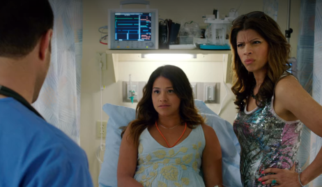 jane the virgin learns pregnant